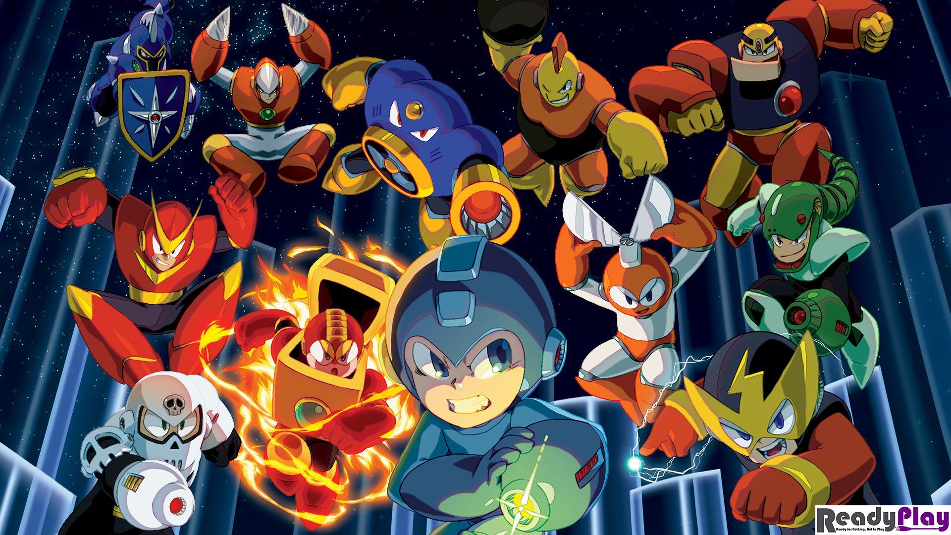 Mega Man Videospiele